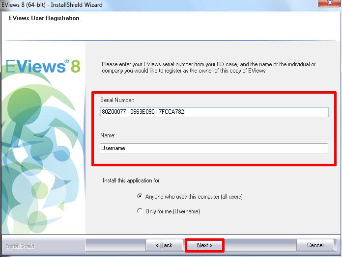 Eviews 7 student serial number generator